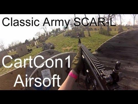 (Jeu GoPro Airsoft) CartCon1 Airsoft, Armée classique SCAR-L, 3.16.13