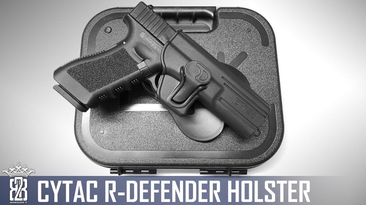 Cytac Holster – Plate-forme pour pagaie, dérouleur et jambe basse R Defender de niveau II