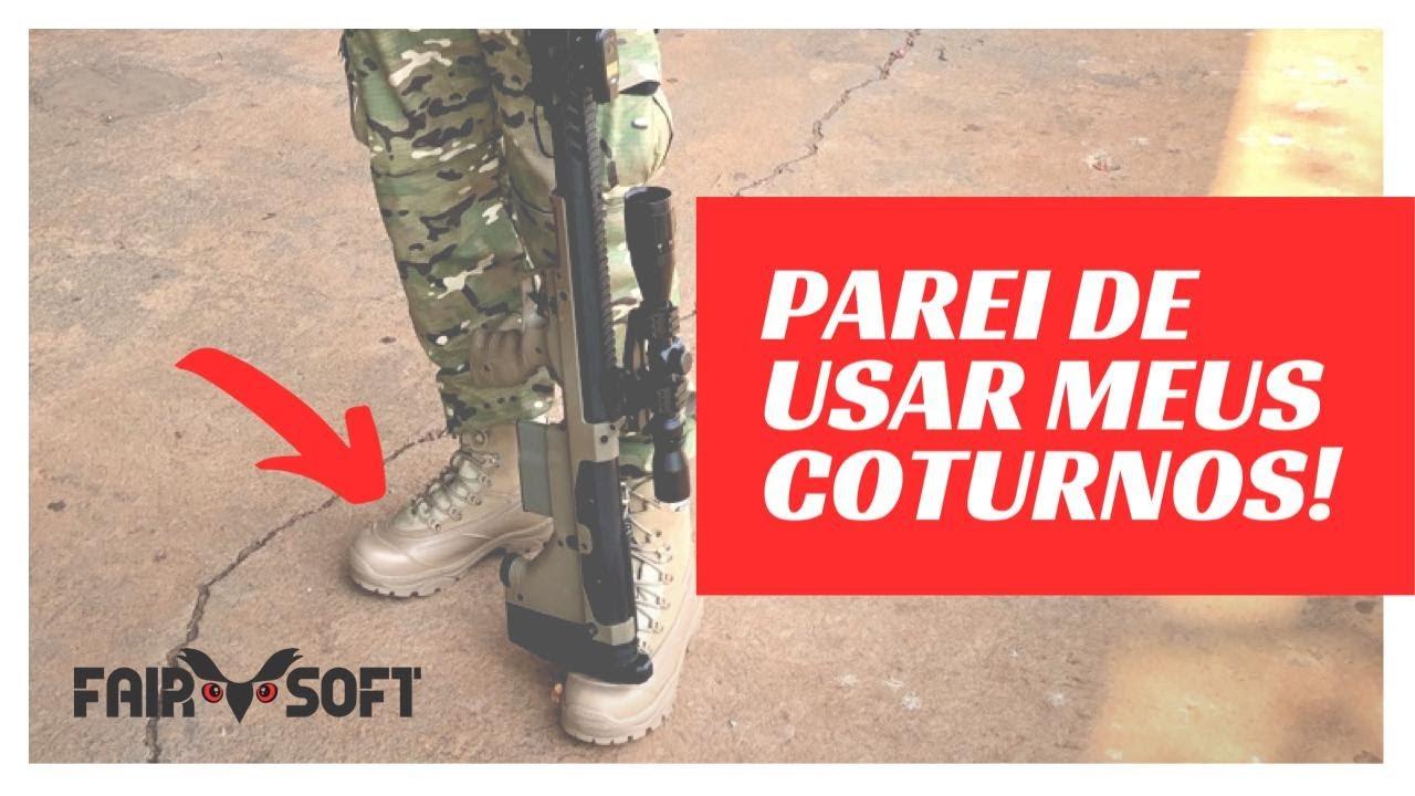 J'ai arrêté d'utiliser mes chaussures Airsoft | Fairsoft