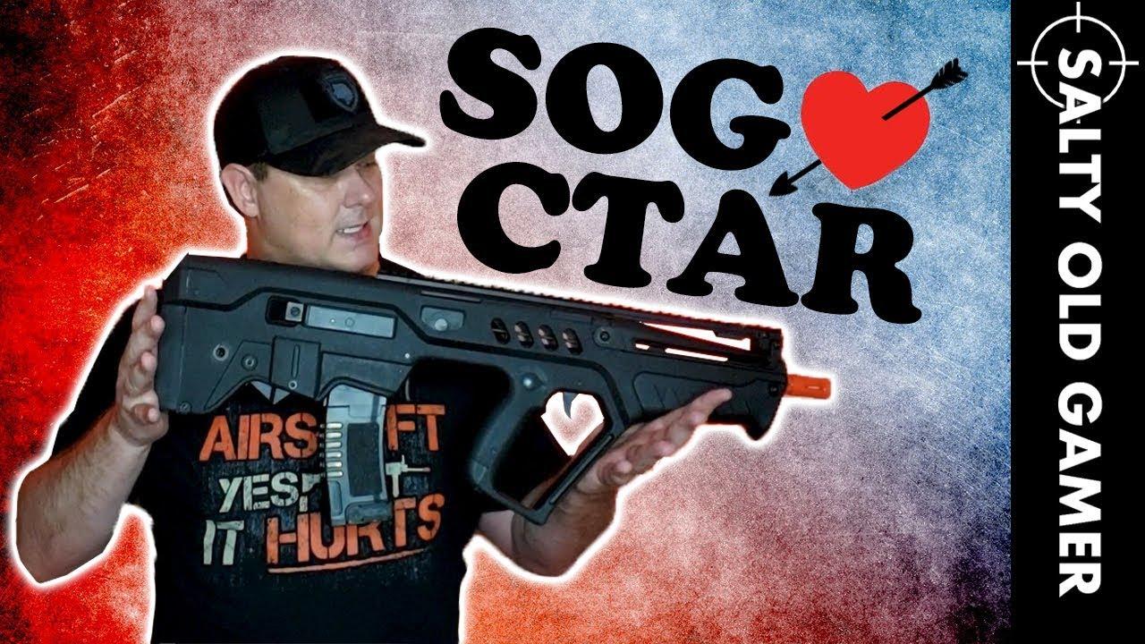 Umarex IWI Tavor CTAR Elite Series | SaltyOldGamer Airsoft Review