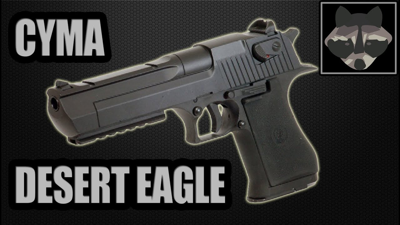 CYMA Desert Eagle (CM.121) – Test Airsoft [HD]