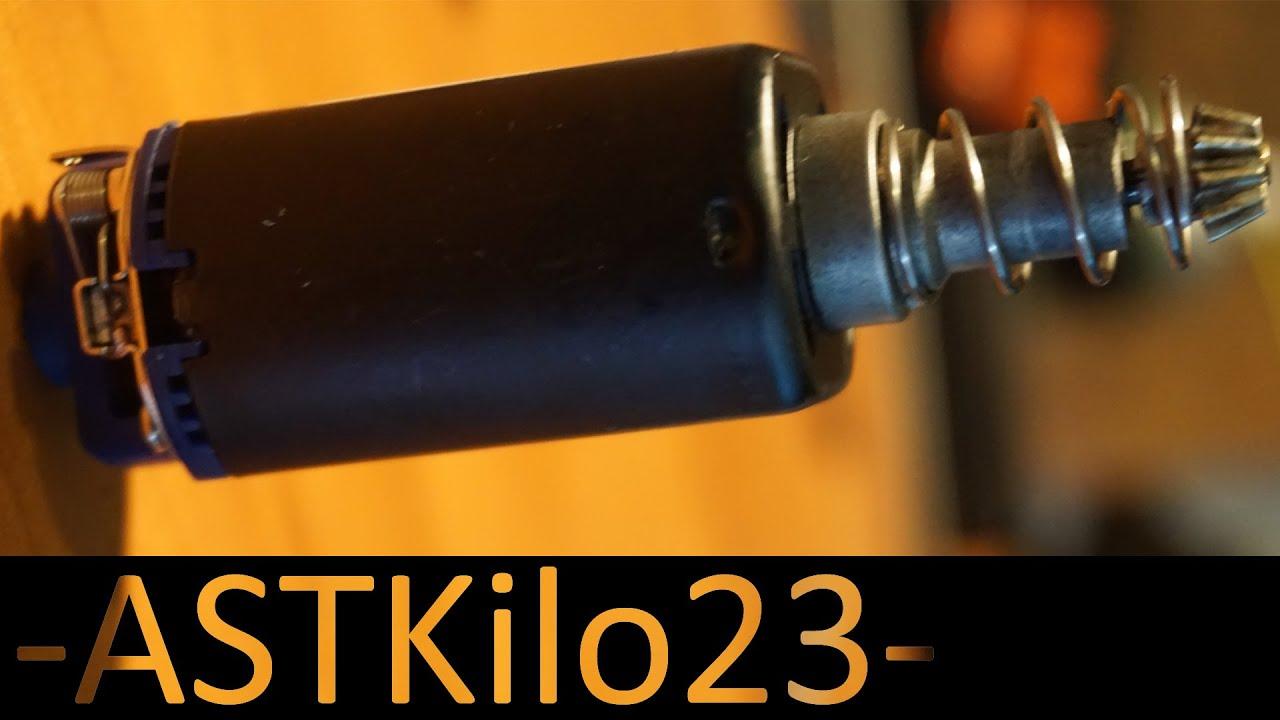 39rps Monster Airsoft Gun! Examen / installation du moteur grande vitesse SHS -ASTKilo23-