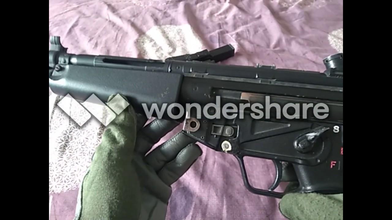 Examen des jouets Airsoft Classic Army MP5 AEG