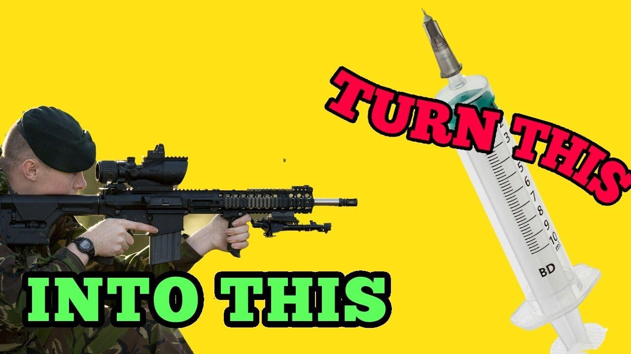 Bricolage || Comment créer un pistolet airsoft || Cara Buat || Fais le toi-même
