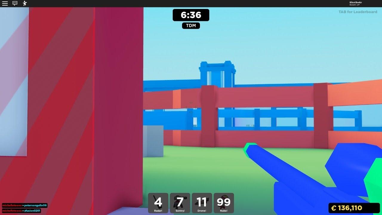 GRAND Paintball! Jouez avec SilentSeekr sur ROBLOX!