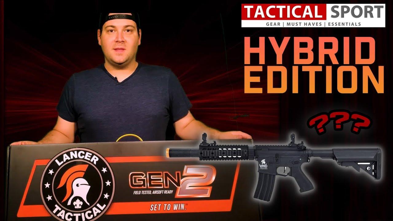 Dave Raider: ULTIMATE AIRSOFT Novice examine la Lance Hybrid Series AEG!
