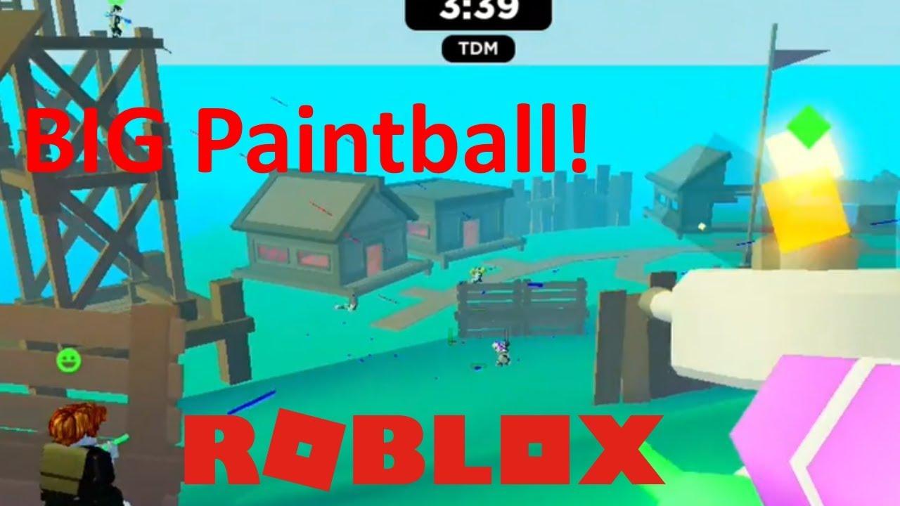 ROBLOX – BIG Paintball!