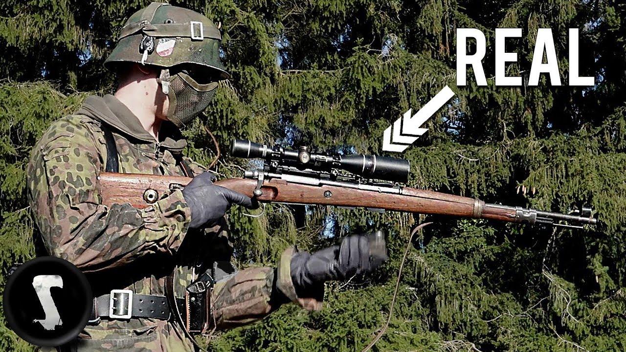 Contre Sniper Mission – Guerre WW2 Airsoft avec ORIGINAL Kar98K