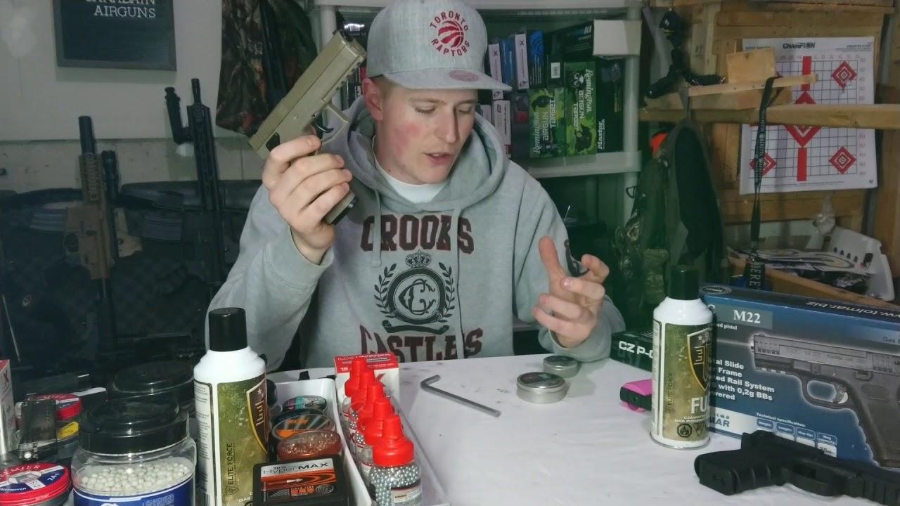 Asg cz p-09 devoir pellet / bb pistolet Avis