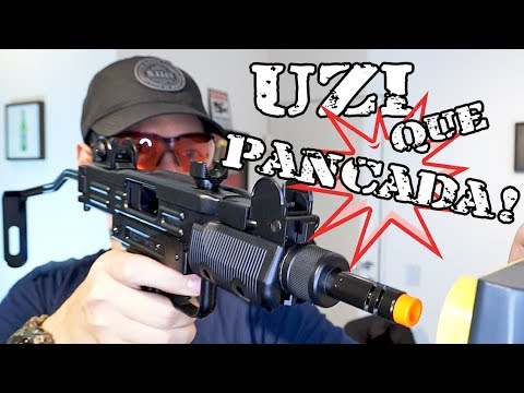 UZI KWC – ULTRA DURE BLOWBACK NOTRE! LUIZ RIDER AIRSOFT
