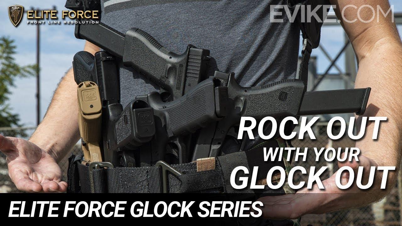 Rock Out avec votre GLOCK Out! – Série Elite Force GLOCK – Test 6mm