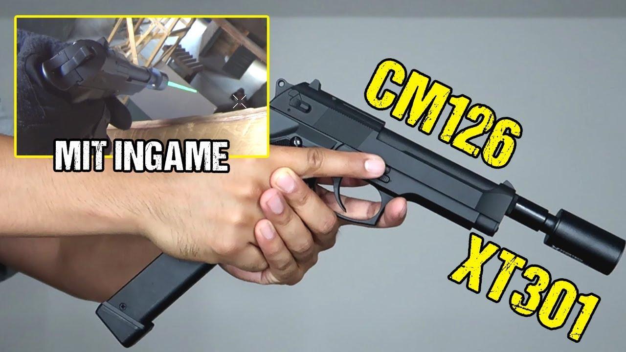 Mon nouveau pistolet Airsoft | CM126 avec Xcortech XT301 Tracer | Déballage et révision