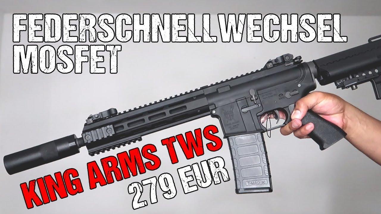 Airsoft arme débutant | Carabine M4 TWS de King Arms | Déballage et révision