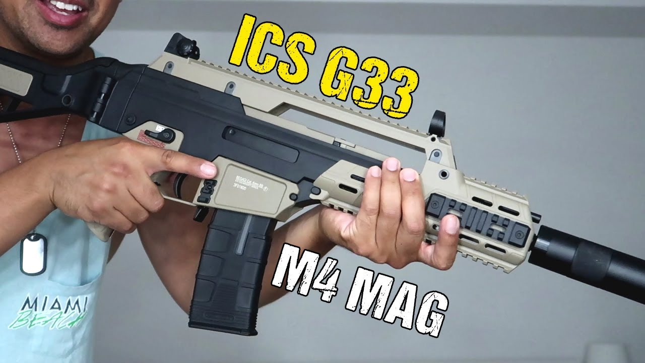 G36 bisous M4 | ICS G33 | Déballage et révision
