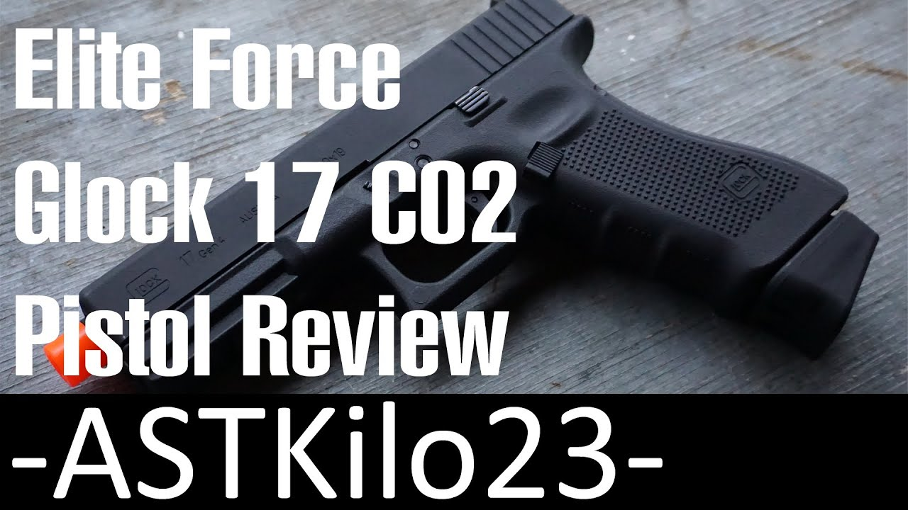 Test du pistolet Airsoft CO2 Elite Force Glock 17