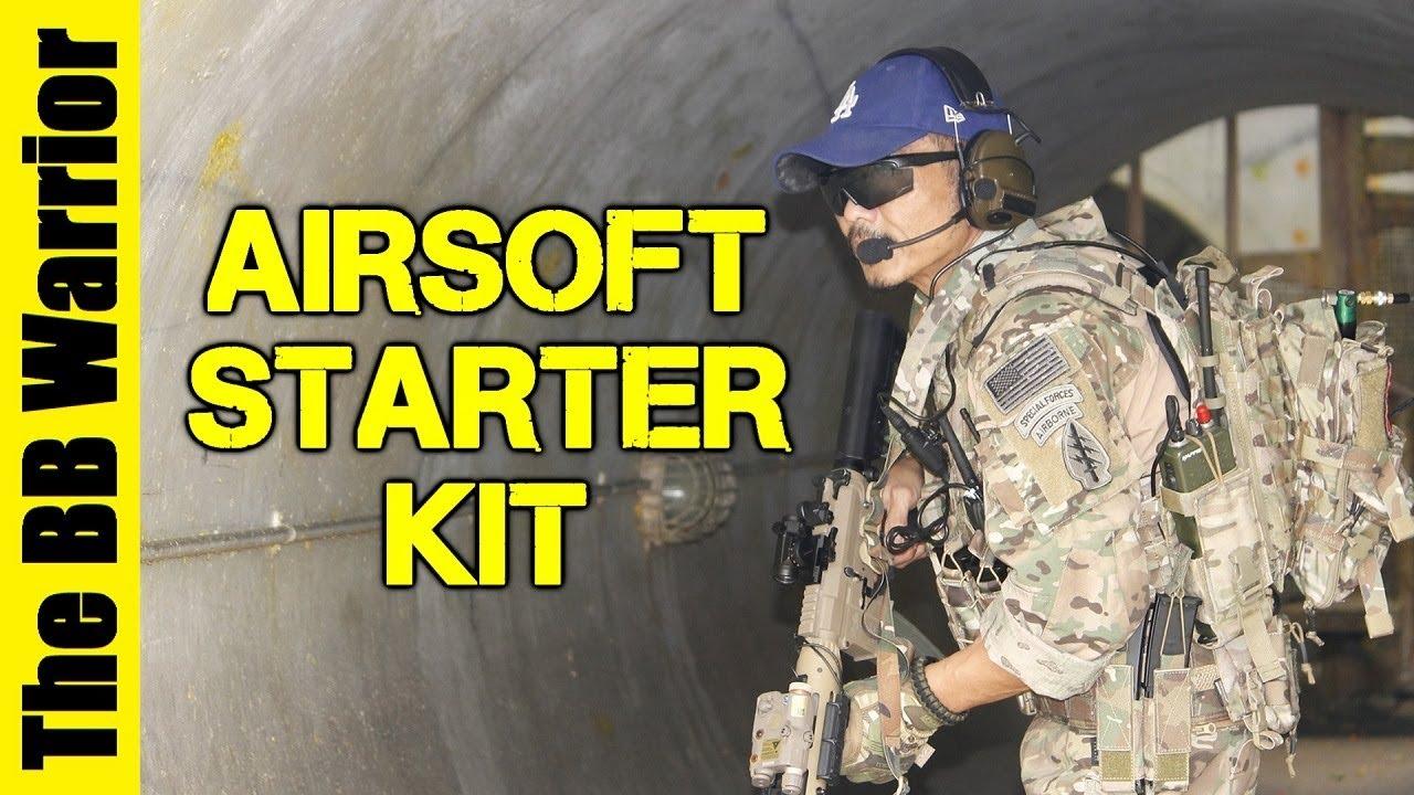 Le MEILLEUR forfait pour les nouveaux joueurs Airsoft | Kits de démarrage Fox Airsoft
