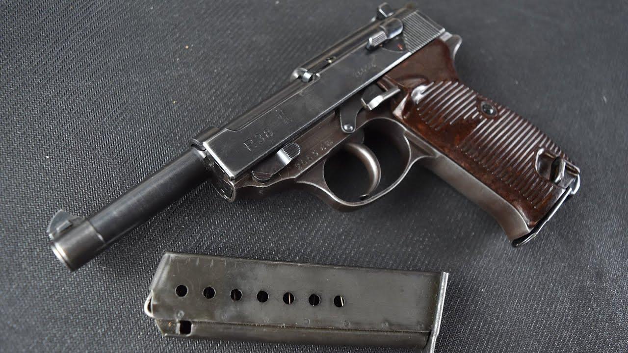 Walther P38 (AC43) … Arme de poing de combat allemande