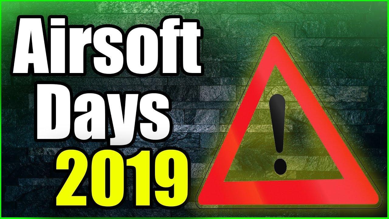GsP Airsoft Days MISES À JOUR 2019!