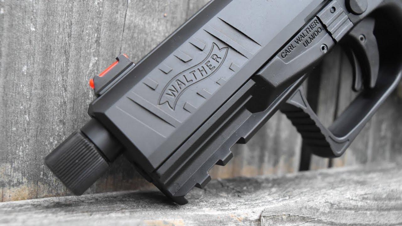 Walther PPQ Q4 Tacical … Le pistolet avec une précision de fusil