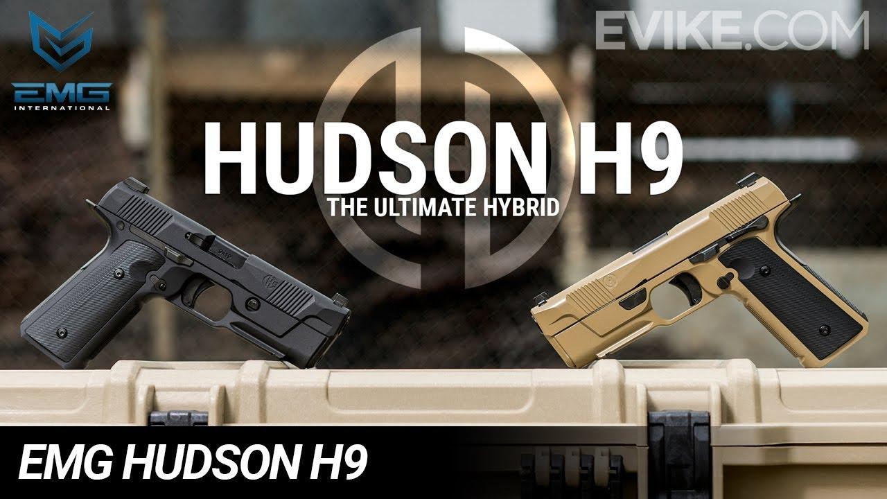 The Ultimate Hybrid – Pistolet EMG Hudson H9 GBB – Test 6mm
