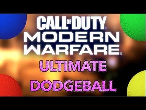 Jeux de Call of Duty Modern Warfare personnalisés – Dodgeball ultime