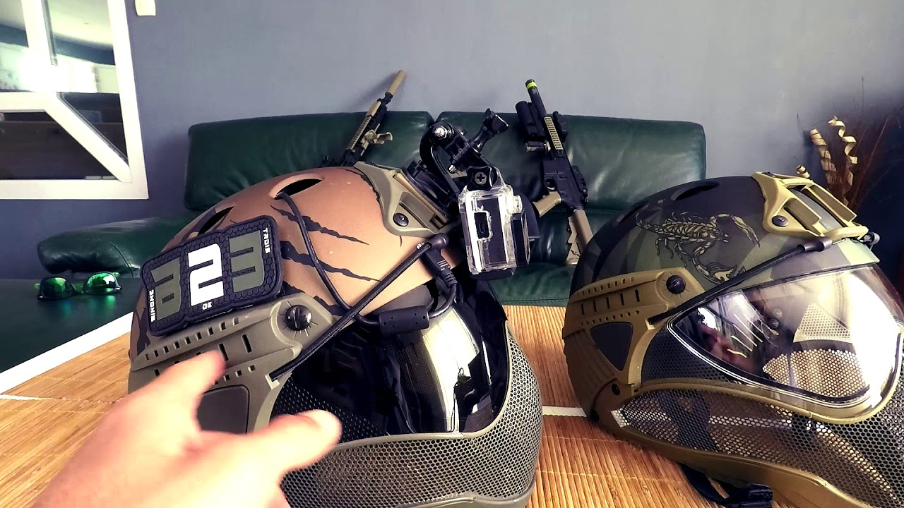 REVIEW CASQUE WARQ | FR | AIRSOFT
