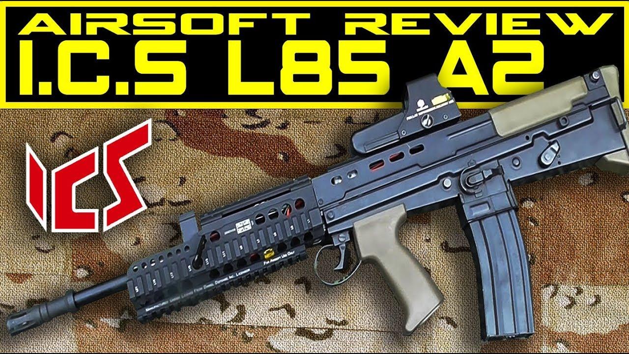 ICS L85A2 Airsoft Test