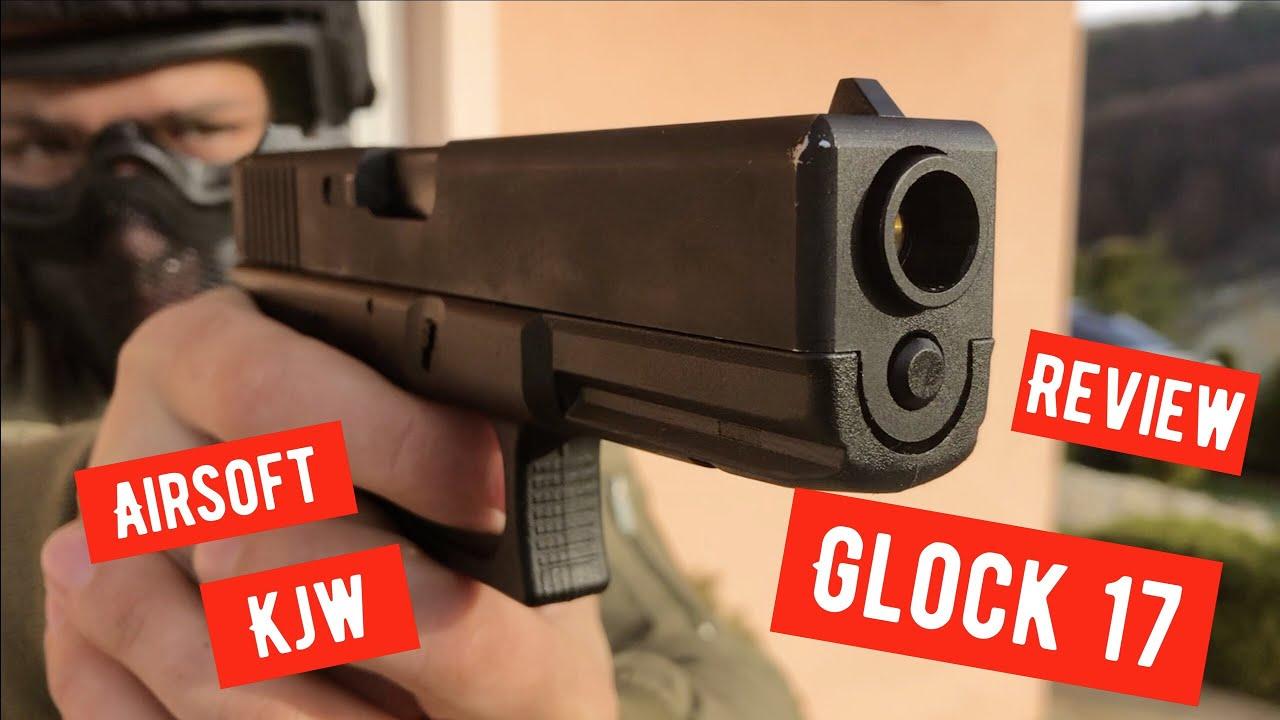 Critique du produit Airsoft Glock 17 KJW, métal, noir SK / CZ