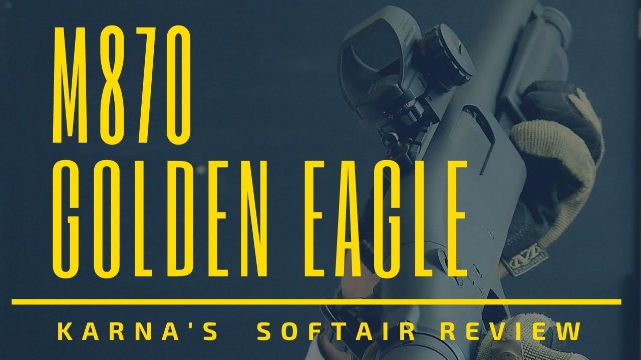 [Airsoft] M870 Golden Eagle – un fusil à pompe pas cher ET à gaz