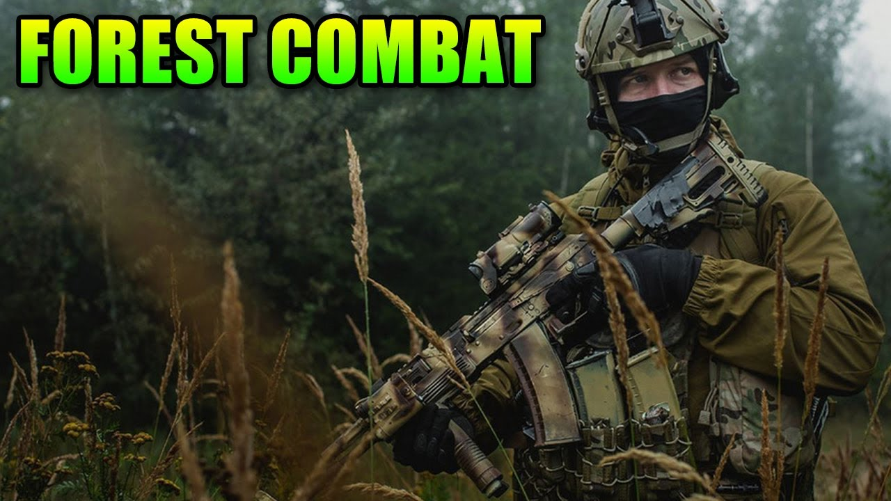 Airsoft Forest Adventures – Gameplay Elite Force M27 IAR