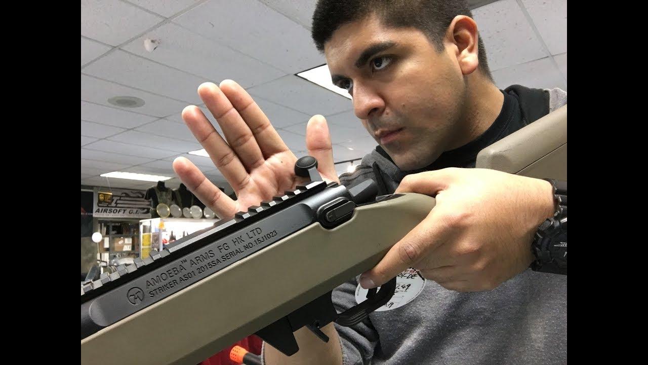 Avis de 1 minute Feat: Amoeba Striker Bolt Action Sniper Rifle