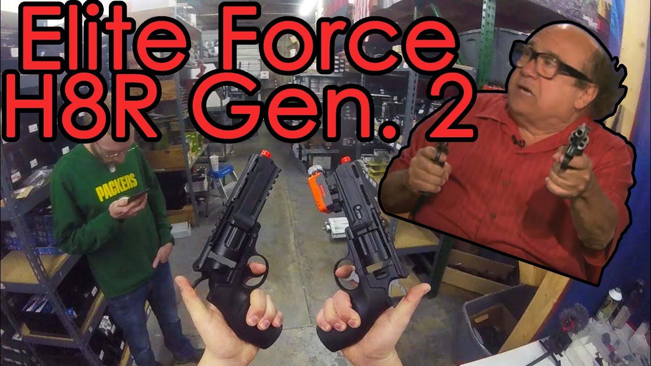 Elite Force H8R Gen. 2: La revue la plus courte au monde