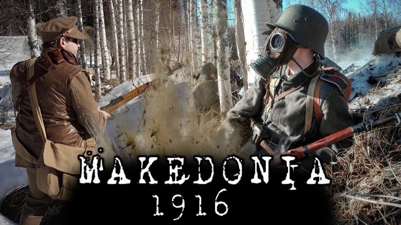 Makedonia 1916 – Jeu Airsoft Première Guerre Mondiale