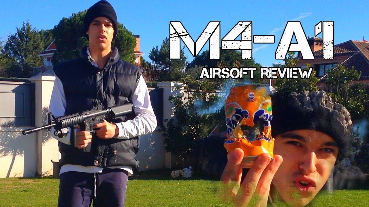 Critique du M4-A1 Airsoft + Test Shot