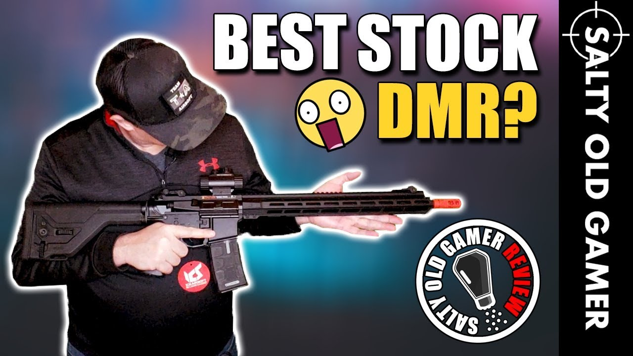 ICS CXP MMR DMR Airsoft Unboxing et Review | SaltyOldGamer Airsoft Review