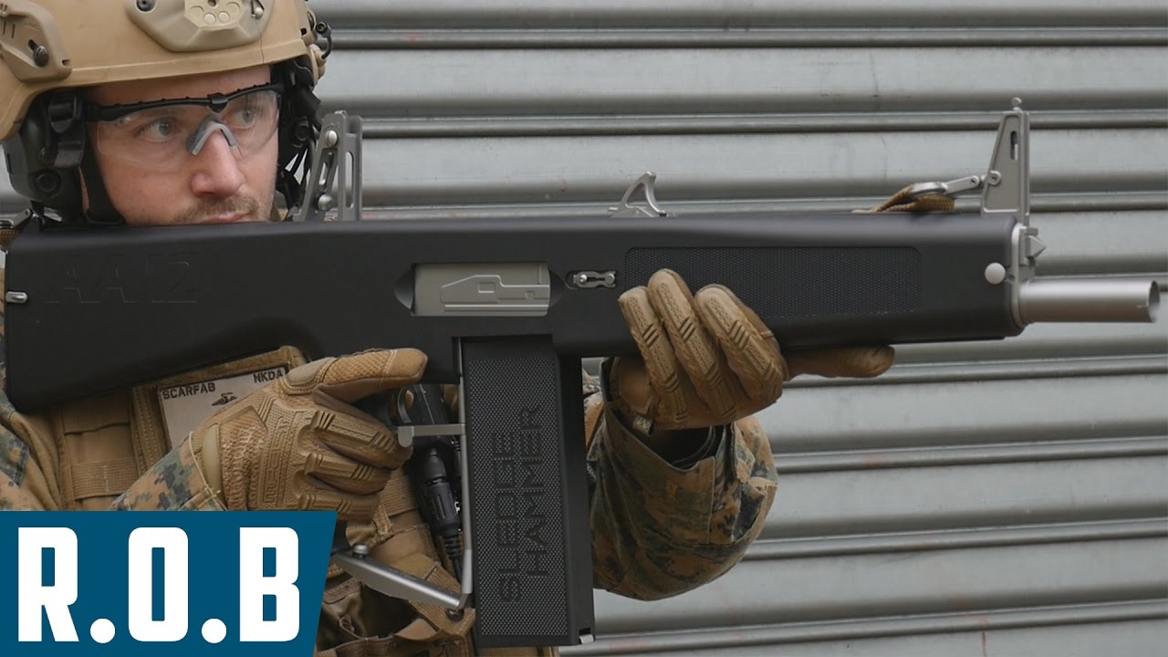 Airsoft | Tokyo Marui AA-12 AES | Review on Battlefield