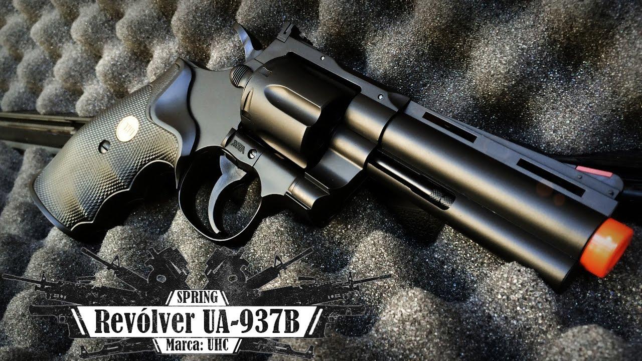 Revolver Spring Python 357 (UA-937B) – UHC (Airsoft Review BR)