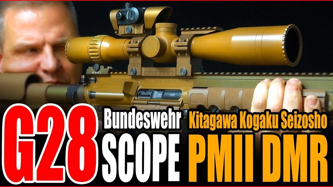 Lunette de visée VFC H & K G28 Airsoft 3-20×50 PMII DMR Scope Review