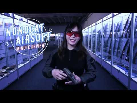 Nonocat Airsoft Minute Review – PISTOLET GBS ICS XFG