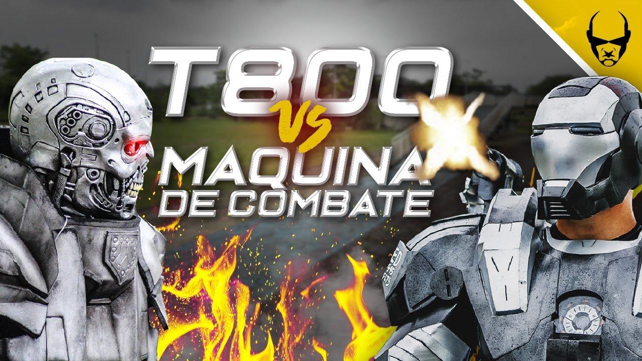 T800 vs MACHINE DE COMBAT | AIRSOFT EN 3ème PERSONNE