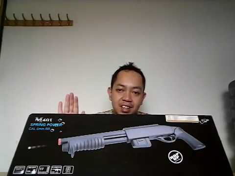 Avis Fusil Air Soft Spring Double Eagle M-401 Shotgun
