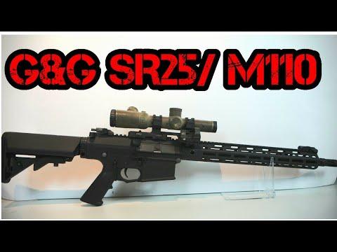 [U] Carabine G & G SR 25 DMR | Chaîne Airsoft de Tom