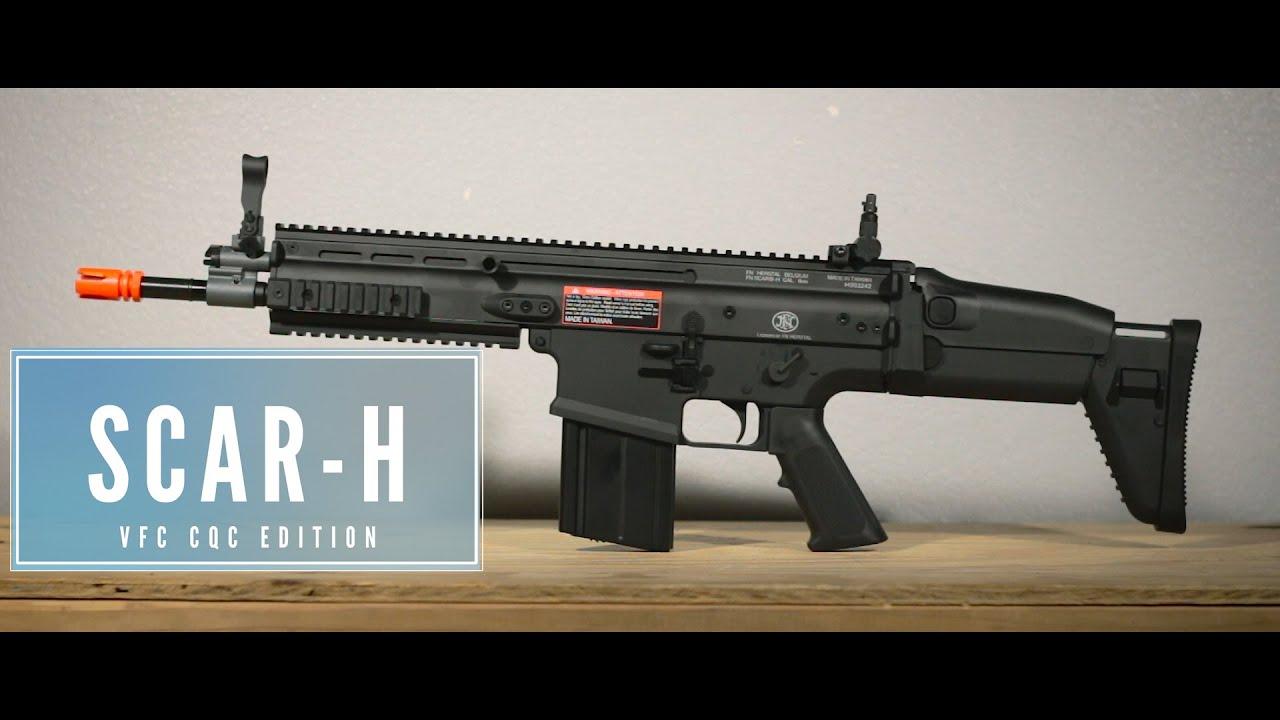 Critique du pistolet Airsoft FN Herstal VFC Scar-H