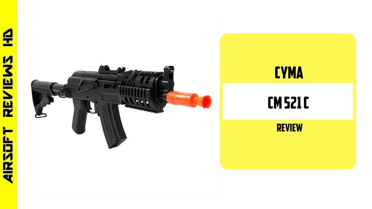(Revue Airsoft) CYMA AKU BETA CQB (CM521C) – Un pistolet Airsoft pas cher