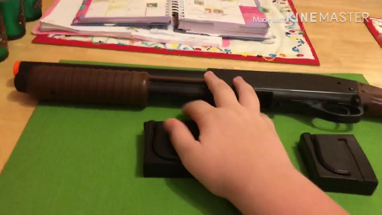 Revue du fusil airsoft S&W M3000