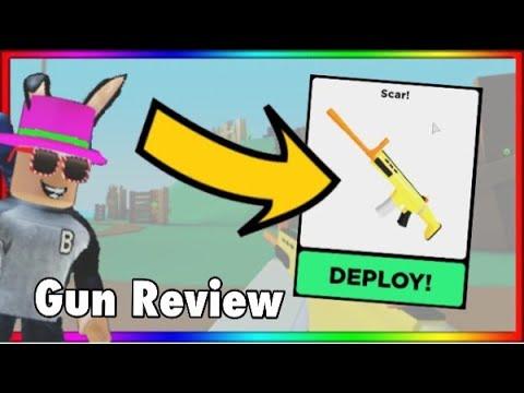 Scar Gun * Examen *! EST-CE LE MEILLEUR PISTOLET? | Big Paintball (ROBLOX)