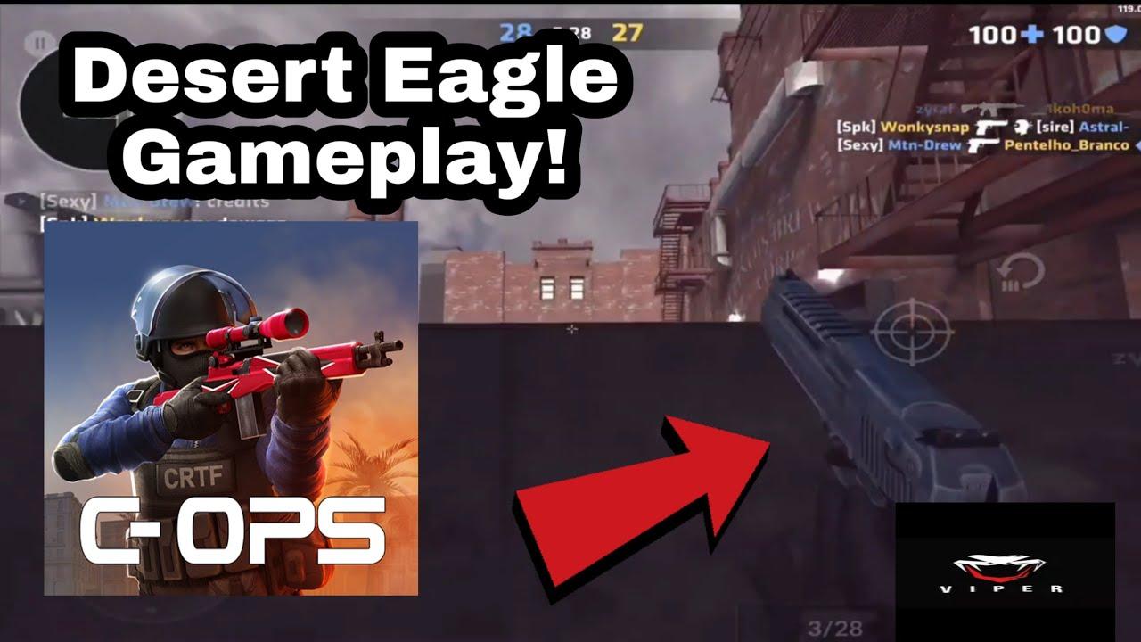 Critical Ops Desert Eagle est TRASH + Gameplay de New Knife