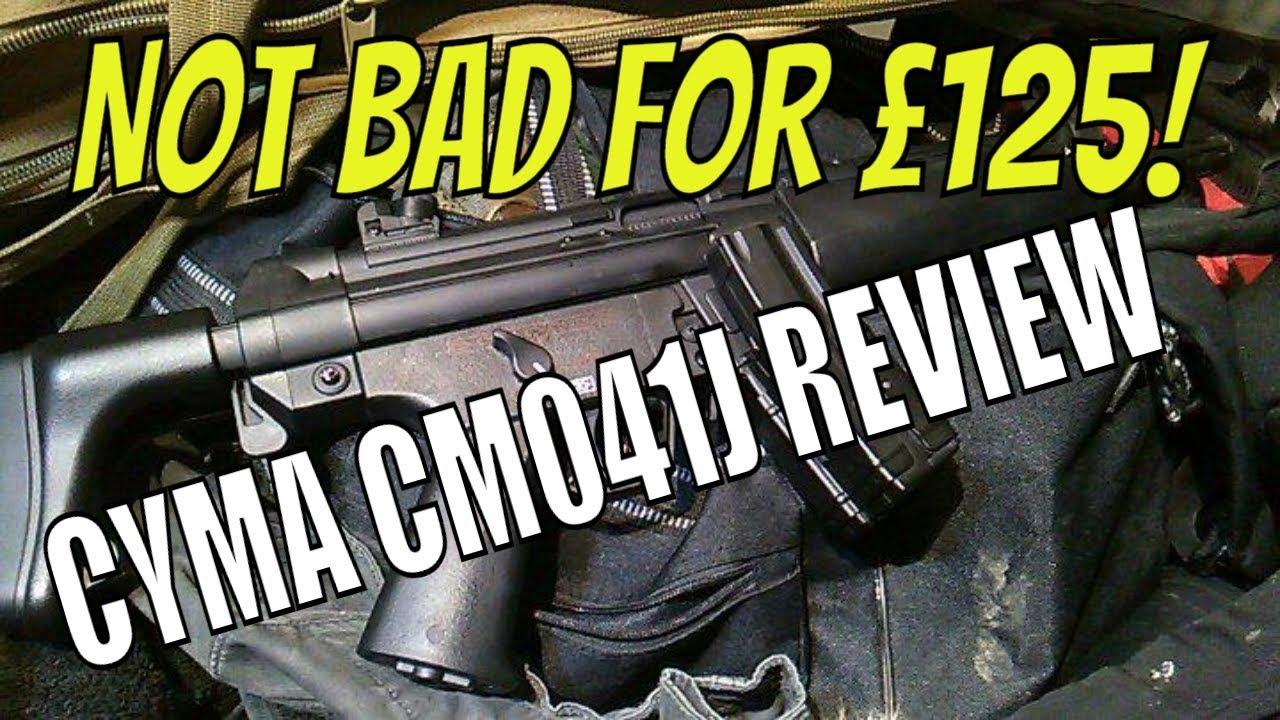 Qui ose gagne   CYMA MP5A5 (CM041J) évaluation