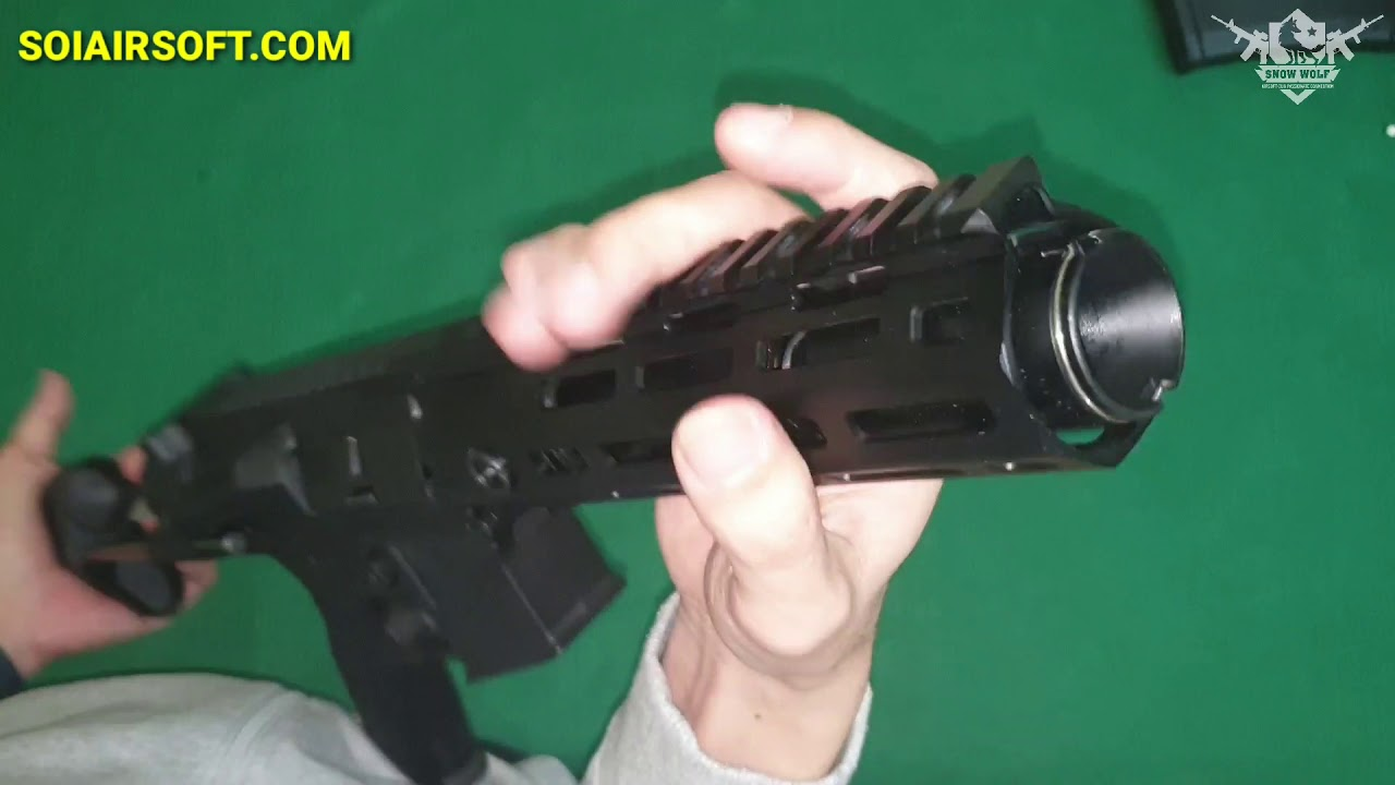 SOIAIRSOFT.COM – AR15 PDW ARCTURUS (AT-AR03) Airsoft qualité abordable