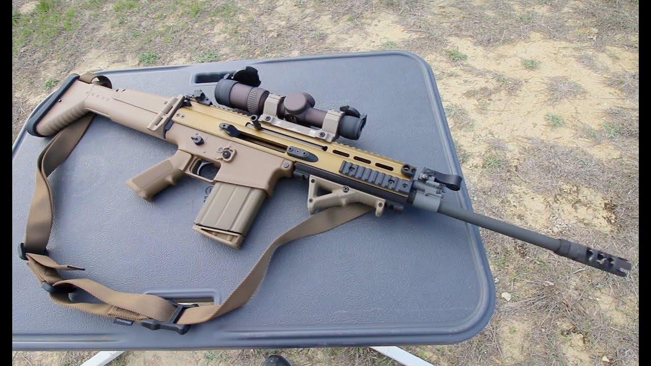 Tournage du FN SCAR 17S